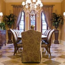 Marvelous Formal Dining Room Curtains And Curtain Ideas Light Fixture For