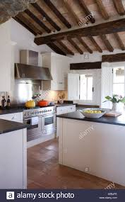 100 Rustic Ceiling Beams Modern Italian Country Kitchen With Rustic Wooden Ceiling
