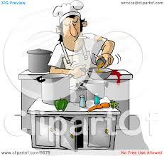 Restaurant Kitchen Clip Art