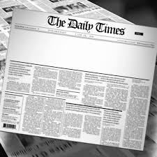 Blank Newspaper Headline Reveal And Loop Hd Animation Motion In