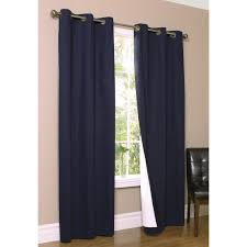 Bed Bath And Beyond Grommet Blackout Curtains by Thermalogic Weathermate Grommet Curtain Panel One Pair Hayneedle