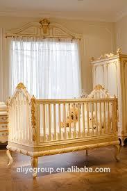 wy108 luxus goldene baby bett krippe holz design luxus baby prinzessin bett kinder schlafzimmer möbel buy baby bett krippen kinder schlafzimmer