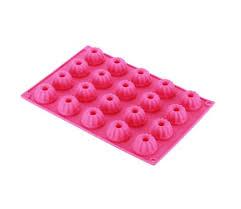 20er gugelhupfform mini kuchen silikon backform 3cm tablett