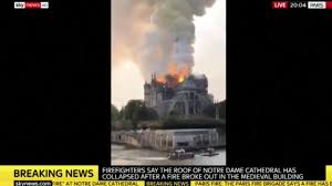 100 Fire Truck Game Videos NotreDame Fire Parisians In Tears Over Cathedral Says Reporter