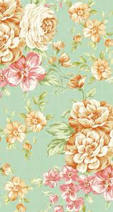 Superb Flower Print Wallpaper 116 Small Patterned Floral Wallpaper