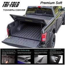 100 F 150 Truck Bed Cover Its 20152018 Ord Premium Soft Lock Triold Tonneau
