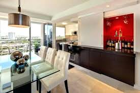 Bar Table Design In Living Room Built Red Home Cabinet Designs With White Sliding