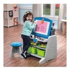 Easel Desk With Stool by Step2 Flip U0026 Doodle Easel Desk U0026 Stool 35 Reg 90 Kohls