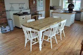 Image Of Popular Farmhouse Kitchen Table Ideas