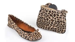 sidekicks foldable shoes leopard all sizes free shipping
