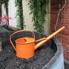 100 Indoor Watering Can Plastic Orange