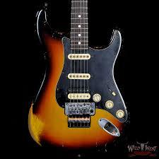 Fender Masterbuilt 65 Stratocaster Relic 3 Tone Sunburst By John