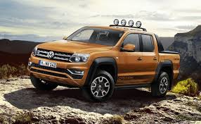 100 Vw Truck Diesel VW Amarok Gets New 201 HP V6 Canyon Special Edition