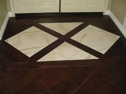 tile inlay in wood floor gallery cheap diy patio flooring ideas