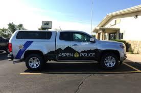 100 Aspen Truck CO Police SVI Graphics