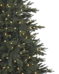 9 Ft Slim Christmas Tree Prelit by Colorado Mountain Spruce Tree Balsam Hill
