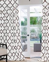Moroccan Tile Curtain Panels by Moorish Tile Curtains Look 4 Less And Steals And Deals