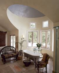 Ceiling Remodel Ideas, Vaulted Ceiling Bathroom Arched Bathroom ... Bathroom Tile Idea Use The Same On Floors And Walls Great Blue Lighting False Ceiling Designs With Fan Creamy 30 Awesome Diy Stenciled Ceilings That Exude Luxury With Pictures Best 50 Pop Design For Roof Zacharykristen Curtains Ideas Coolwer Curtain Small Bold For Bathrooms Decor Home Pictures Depot Panels Trim Lights 3203 25 Tile Ideas Small Bathrooms And How To Remove Mold Anti Attic Rooms 21 Ways To Capitalize On Your Top Floor Bob Vila Inspiring 20 Basement Budget Check