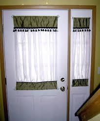Front Door Side Panel Curtains by Front Door Curtain Rod Front Door Sidelight Curtain Rods Front