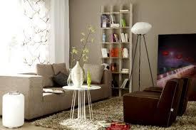 einrichten mit farbe wohnzimmer in hellem grau braun bild