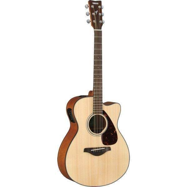 Yamaha FSX800C 6 String Acoustic Electric Guitar - Natural