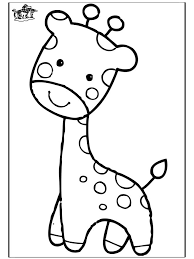 Free Printable Coloring Giraffe Page 69 With Additional Picture