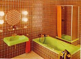 im farbrausch bäder der 70er jahre badezimmer einrichtung
