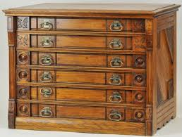 six drawer willimantic spool cabinet lot 1380 furniture
