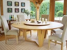 Remarkable Round Oak Dining Table Interesting Ideas Cool