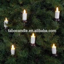 Luminara Moving Flame Led Christmas Tree Candles