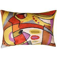 Red Decorative Lumbar Pillows by Contemporary Throw Pillows For Sofa Store Closing Throw Pillows