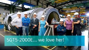 Dresser Rand Group Inc Wiki by Sgt5 2000e Heavy Duty Gas Turbine 50 Hz Gas Turbines Siemens