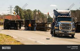 100 Logging Truck Accident Turned Image Photo Free Trial Bigstock