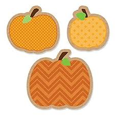 Central Wisconsin Pumpkin Patches by Amazon Com Pumpkin Patch Diy Shaped Fall U0026 Thanksgiving Party