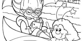 Rainbow Brite Coloring Pages
