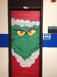 Classroom Door Christmas Decorations Ideas by Dr Suess U0027s Grinch Classroom Door Decoration Classroom Holidays