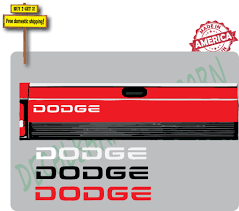 100 Truck Tailgate Decals Dodge Black Sticker Decal Made In America The Decal