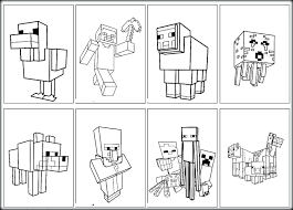Minecraft Coloring Pages Sword Marvellous Image Sheets 5 17 Mutant Creeper