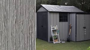 Keter Storage Shed Home Depot by Keter Duotech Sheds And Outdoor Storage Youtube