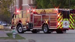 Flower Mound NEW Engine 501 Responding