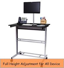 Imac Desk Mount Uk by Best Height Adjustable Desk For Devices Macbook Ipad Imac Pc