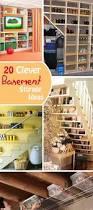 Hyloft Ceiling Storage Uk by 20 Clever Basement Storage Ideas Hative