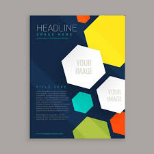 Simple Poster Template Free Corporate Flyer