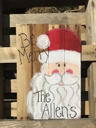 Painted Christmas Signs Fun For