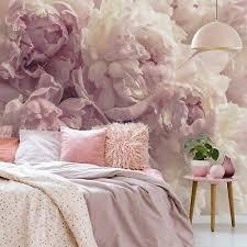 vlies fototapete schlafzimmer blumen 3d rosa pfingstrose