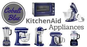 Cobalt Blue KitchenAid Appliances