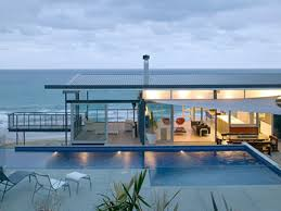 Ultra Modern Beach House Design - Grezu : Home Interior Decoration