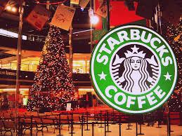 Christmas At MOA Starbucks