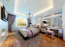 Light Blue Room Simple Bedroom Elegant Interior Design