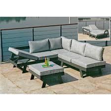 3 tlg lounge set gartenlounge sitzecke sitzgruppe gartensofa sofa garten haushaltswaren möbel und freizeitartikel günstig kaufen auf gravidus de